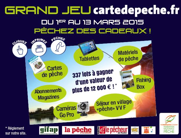 Grand jeu cartedepeche. fr